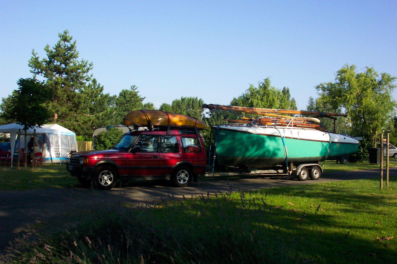 using an atalanta as a caravan en route