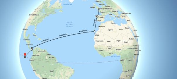 A113 Aku travels to The Galapagos