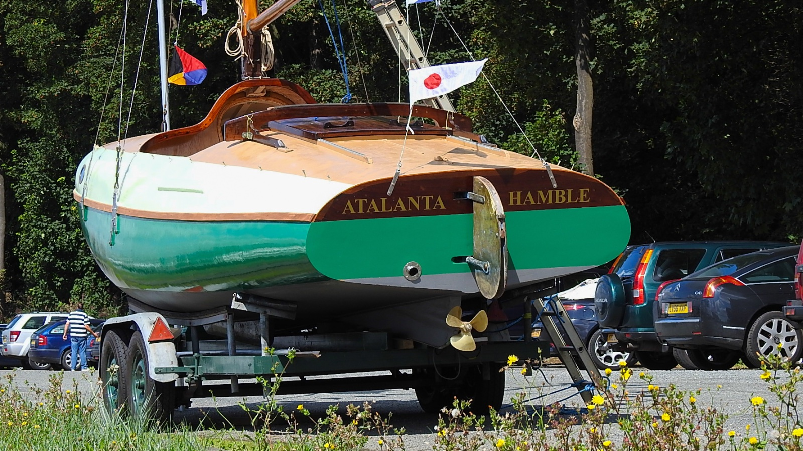 Restoration of A1 'Atalanta' 2016 to 2019