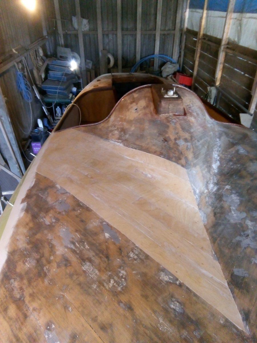 A1 Restoration - Foredeck Veneering