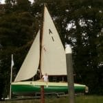 14.10 The new sails get their first airing at AOA60, Levington