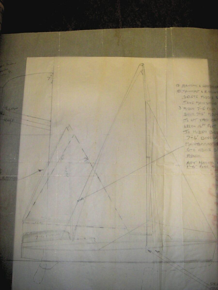 Fairey Marine Early ideas for the Atalanta 31