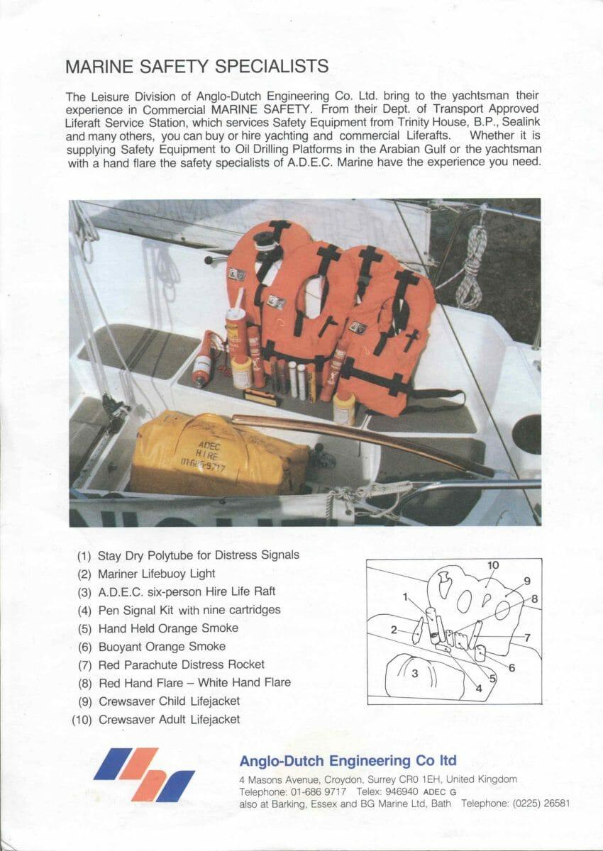 1992 Unsink Buoyancy-brochure p 4 of 4