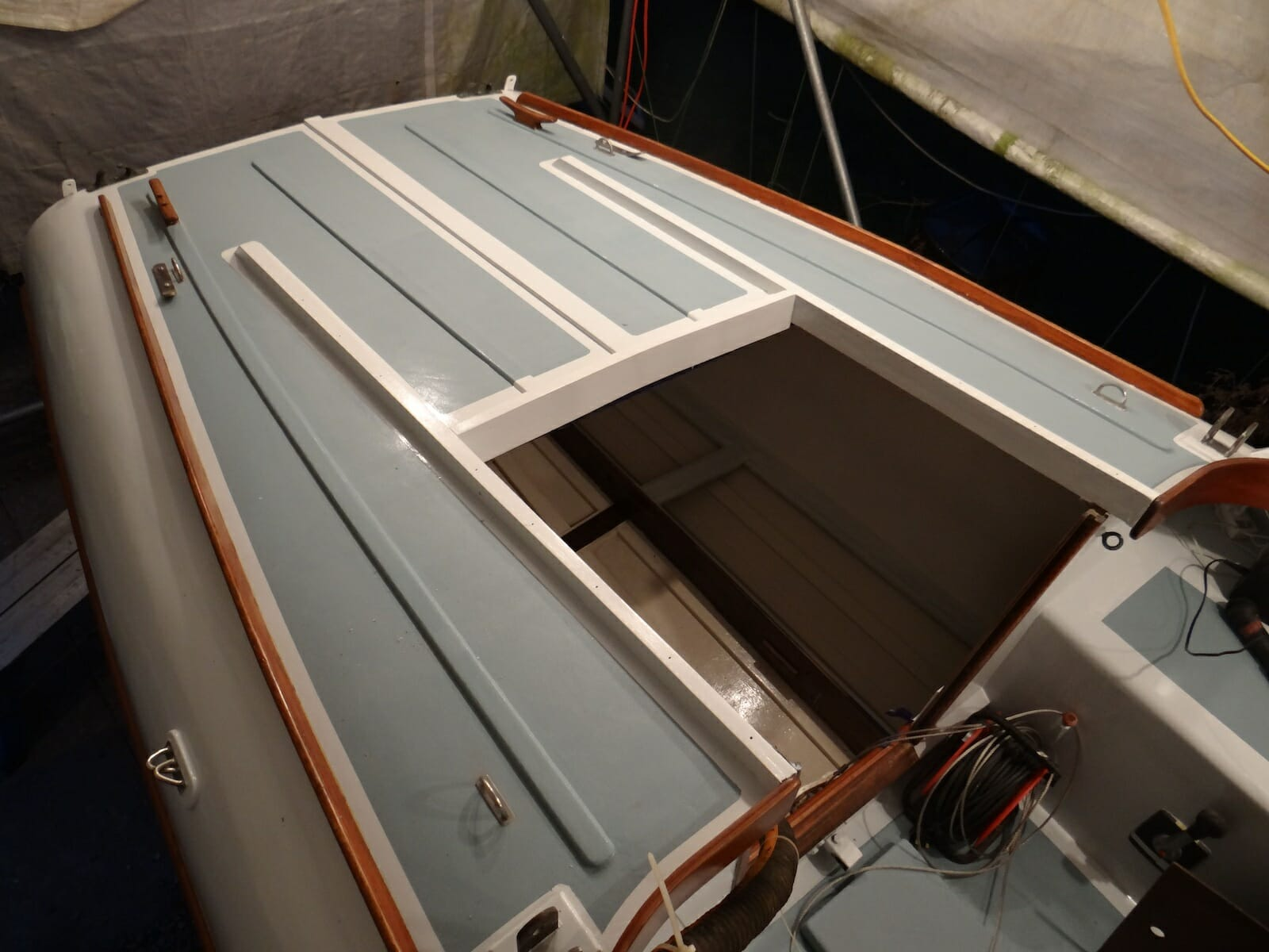 A124 Helene Aft Deck Repairs