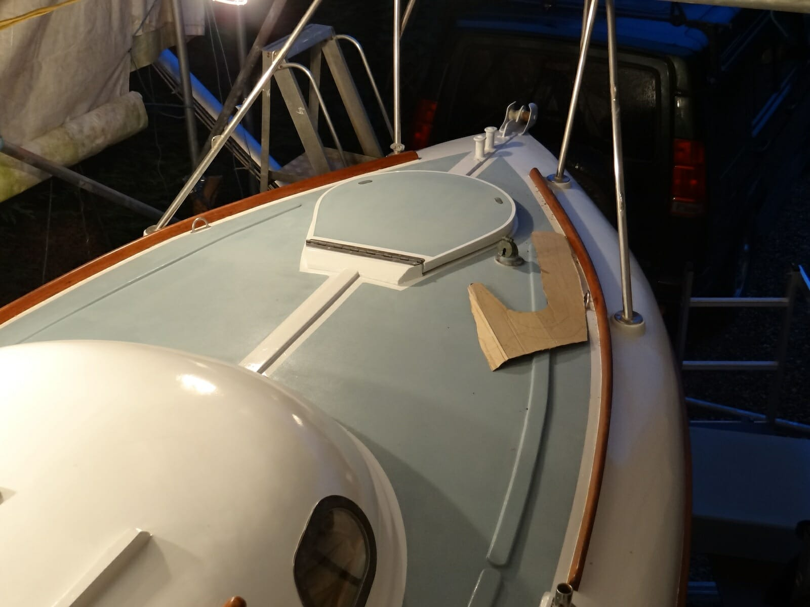 A124 Foredeck Repairs