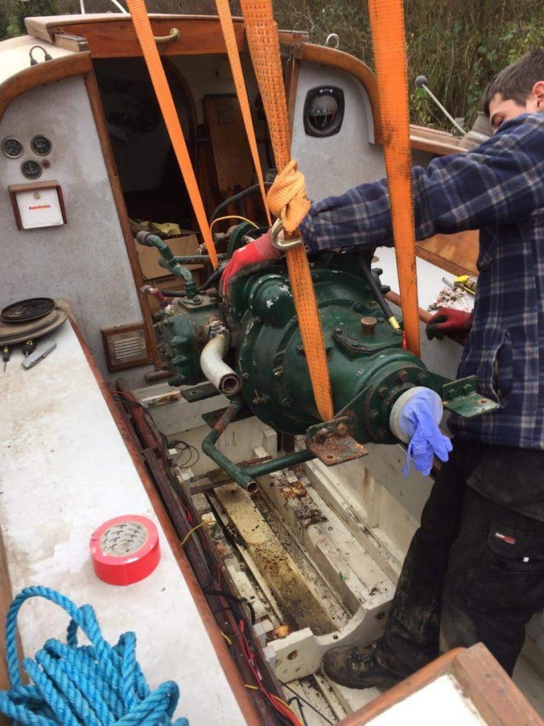 2018 Taku Maru Engine removal