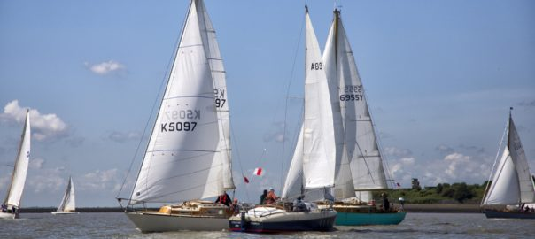 2019 A89 takes part in the 2019 Suffolk Yacht Harbour Classic Regatta