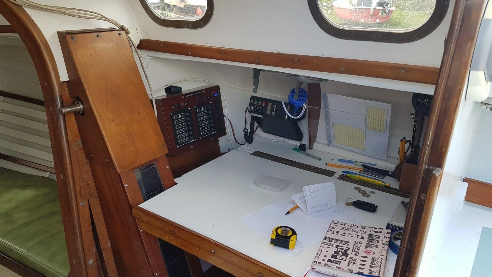 The navigation area