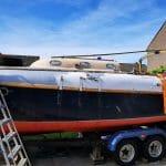 2020 A71 Blue Jackaroo Repairs 013 - hull
