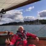 A1 sailing the River Orwell late 2019