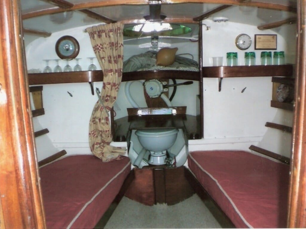 A102 main cabin and shelves