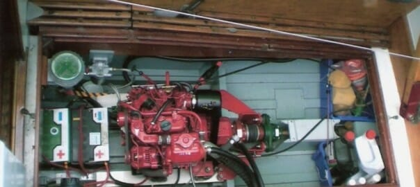 A102 Beta engine installation