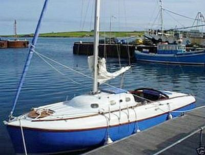 A58 2000ish in Orkney after Alan Kenworthy sold my-previous-wooden-boats
