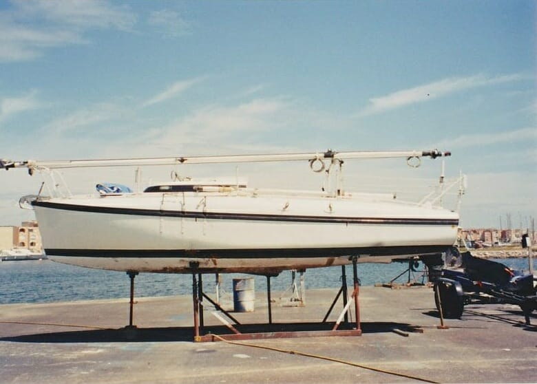 A86 1990s Sassi Afloat and ashore in Gruissan Southern France '90s 2