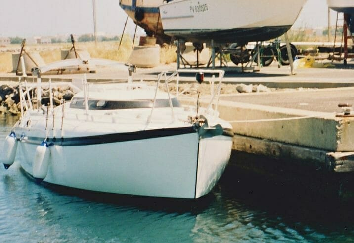 A86 1990s Sassi Afloat and ashore in Gruissan Southern France '90s 3