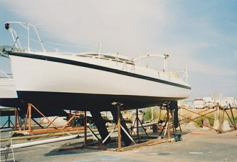 A86 1990s Sassi Afloat and ashore in Gruissan Southern France '90s 4