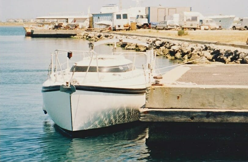 A86 1990s Sassi Afloat and ashore in Gruissan Southern France '90s