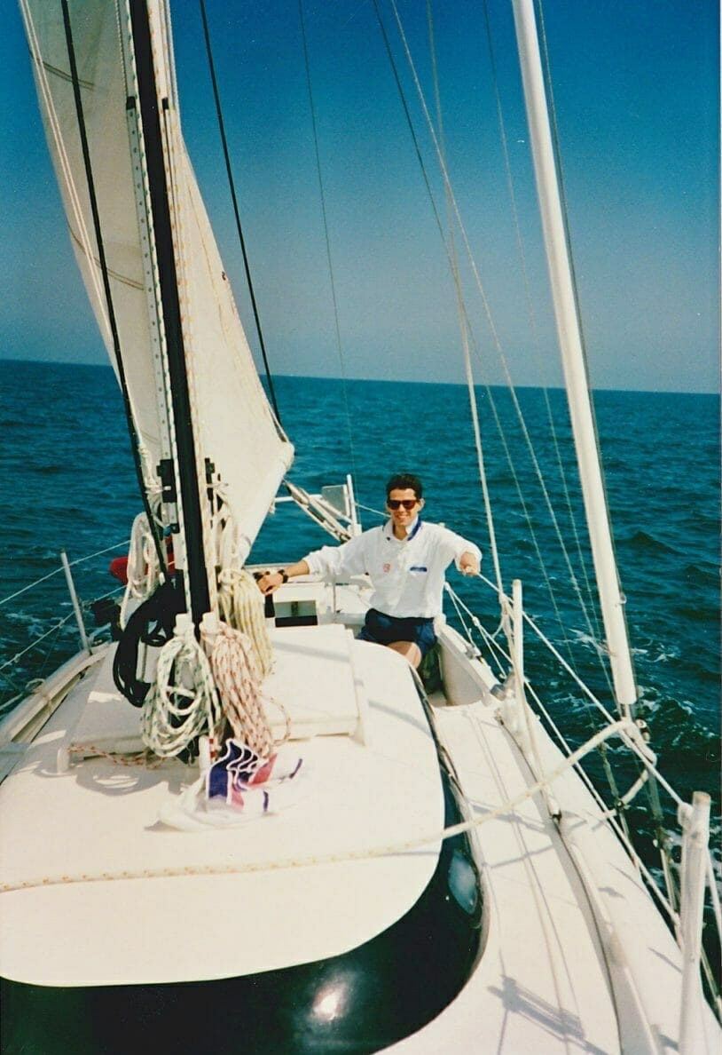 A86 1992-3 First passage across to France 1992/3 1