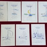 AOA AGM Dinner Card Covers 1959-65