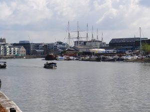Around the Bristol Floating Harbour