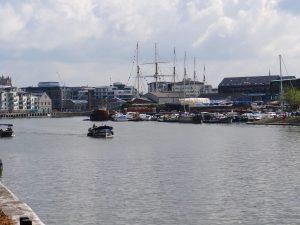 Around the Bristol Floating Harbour