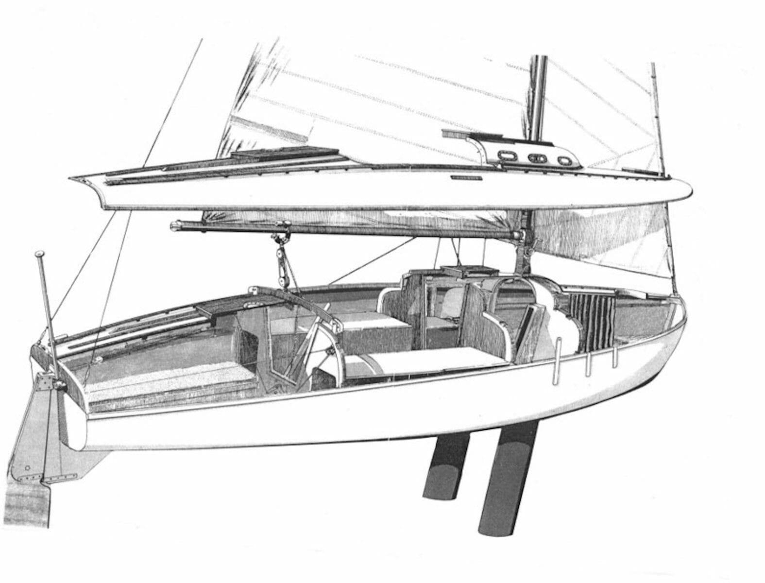 1965 Atalanta cutaway graphic