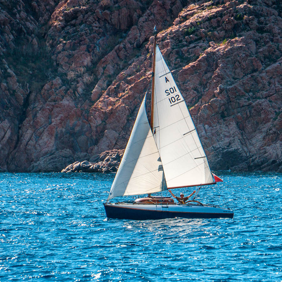 Alistair and A102 off Sardinia
