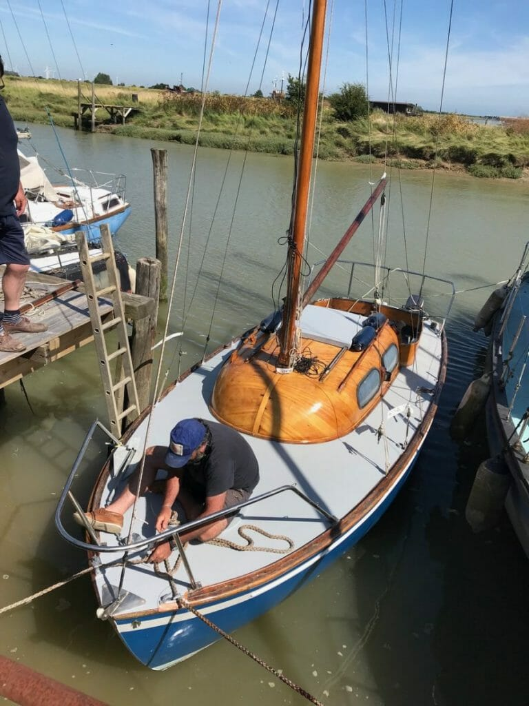 F14 afloat at Faversham