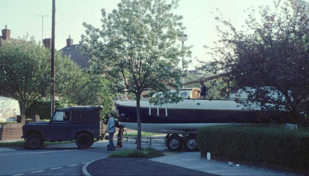 Late 1970s Restoration for A124 Helene by Godfrey Holter