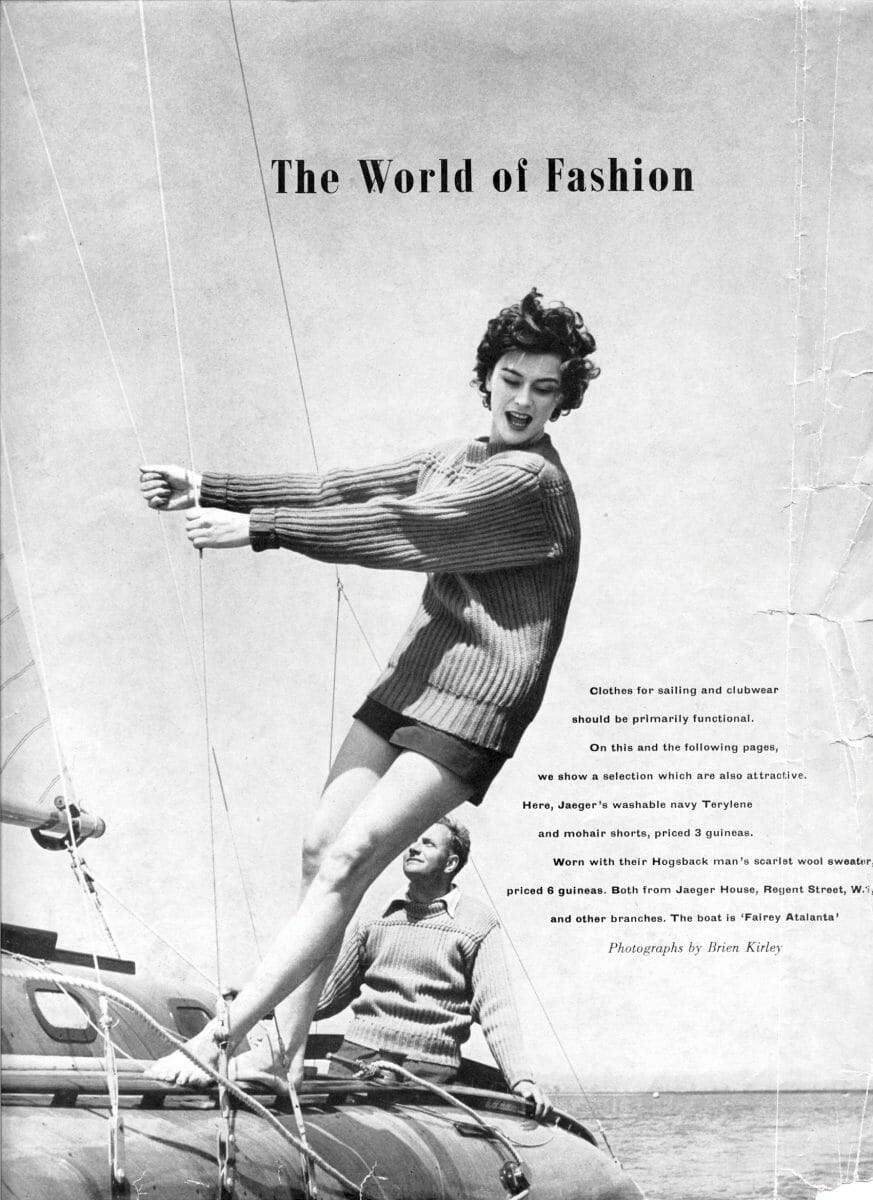 1960s Atalanta 26 in Jaeger fashion ad