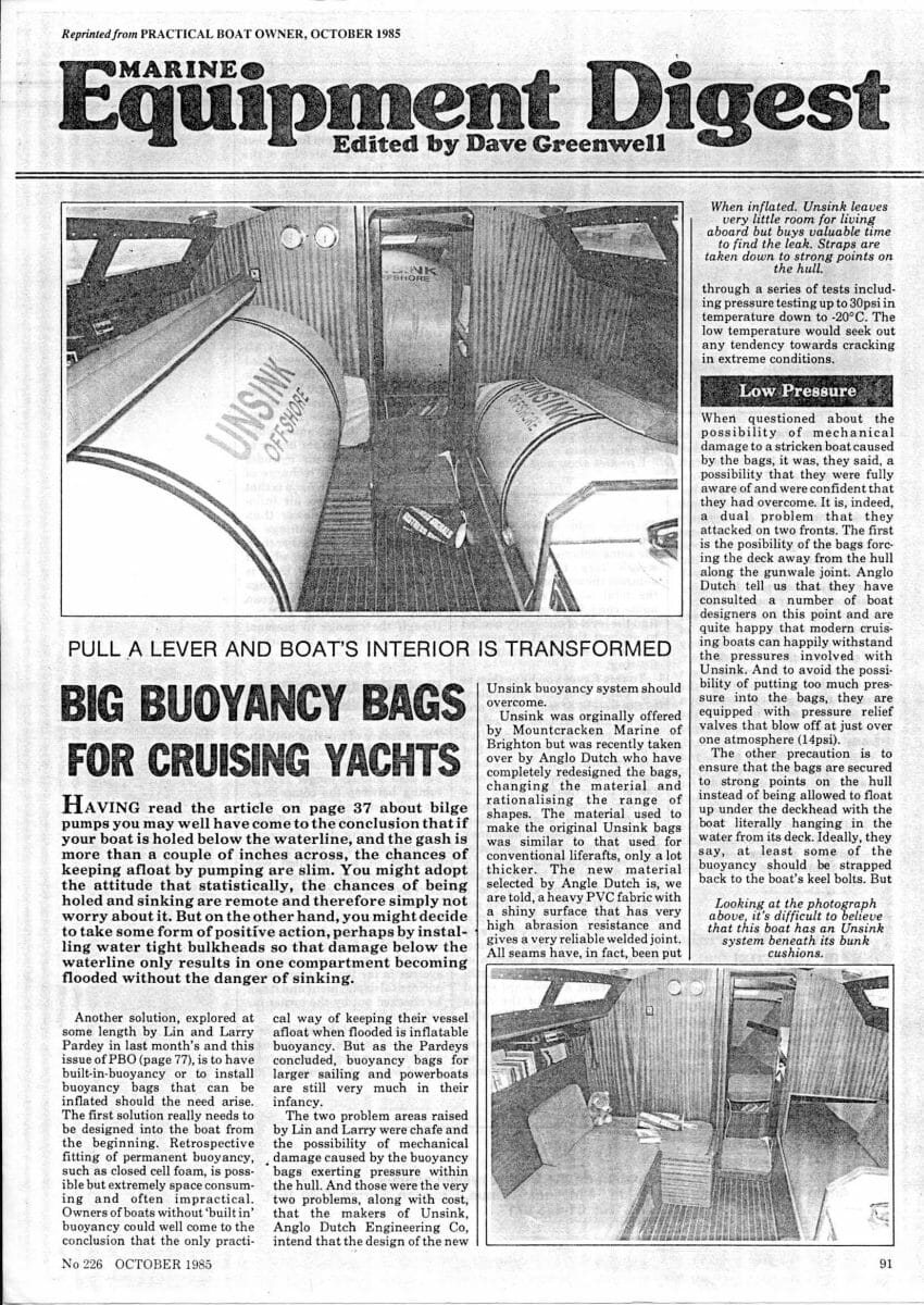 PBO Oct85Unsink Buoyancy-p91