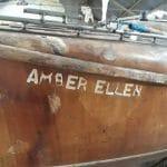 A161 Amber Ellen - pre restoration in March 2019