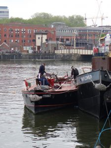 Pyronaut is one of a number of historical vessels open to the public