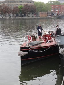 A boat with a single purpose
