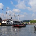 Pyronaut approaches SS Great Britain