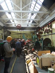 The Workshop with twin line shafts