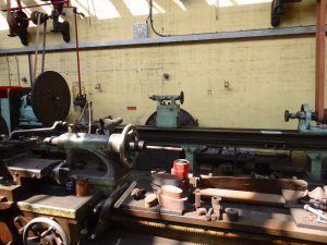 That is quite a lathe!
