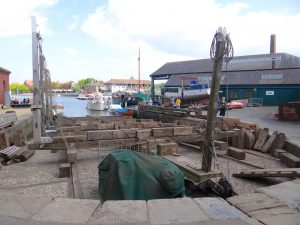 The patent slipway at Underfall
