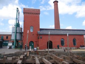 The magnificent pump house which generated hydraulic pressure for equipment around the docks