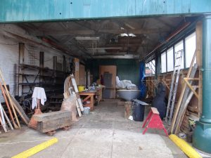 One of the boatyards