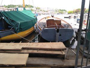 Boatyard activity