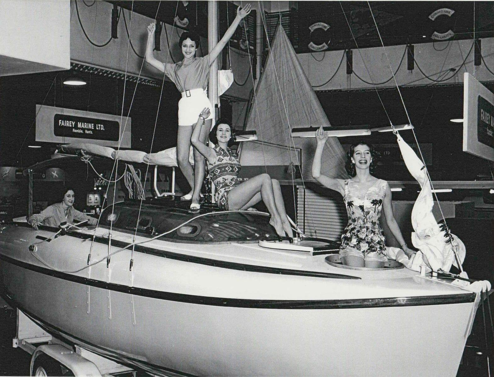 1958 Boat Show Fairey Publicity Shot