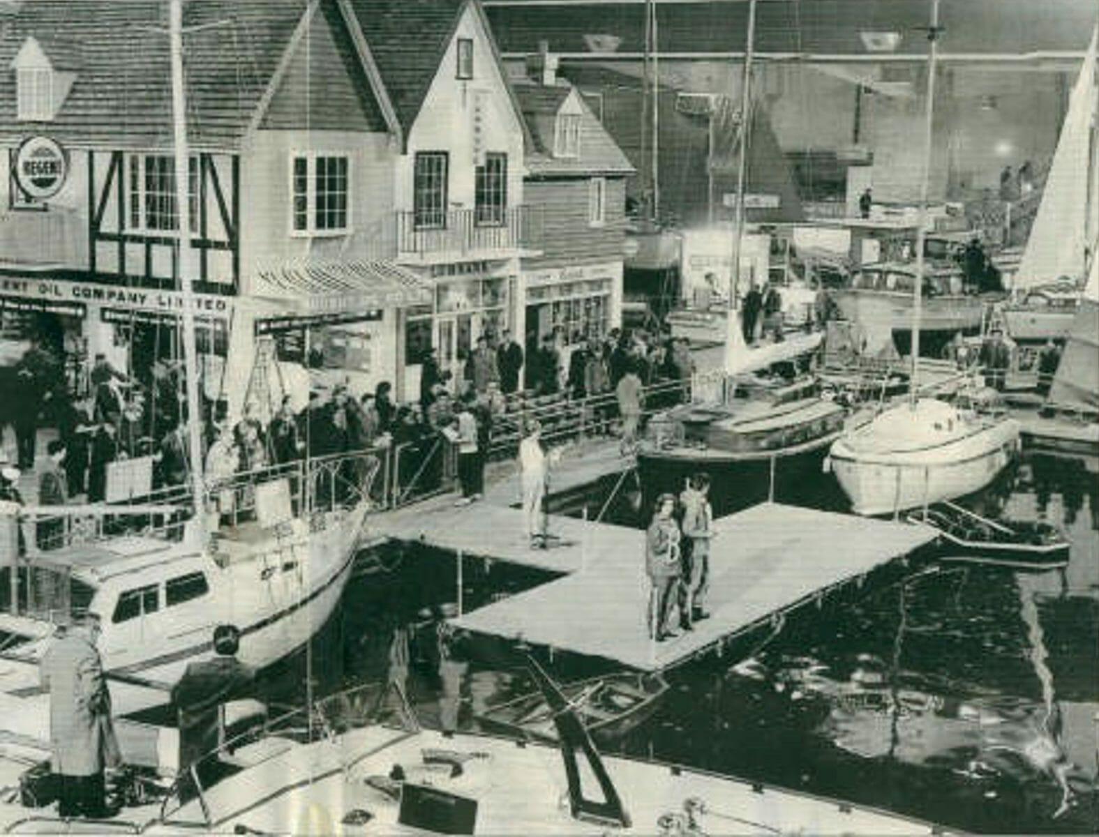 1962 Boat Show Publicity shot