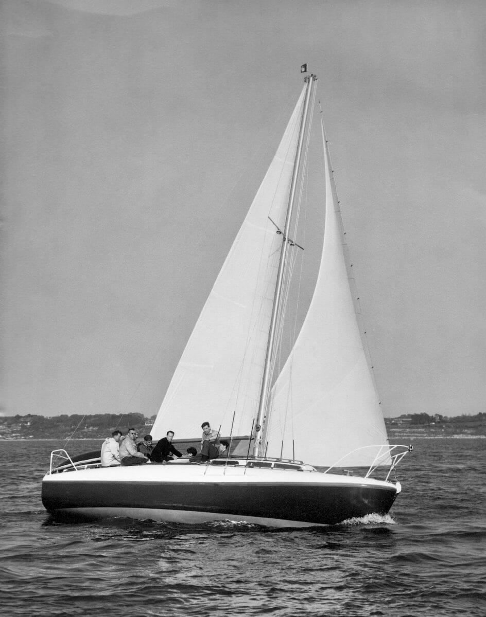 1962ish unidentified 31 Fairey Marine Publicity Shot