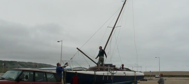 mast raising