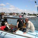 A119 Walrus leaving the pontoon