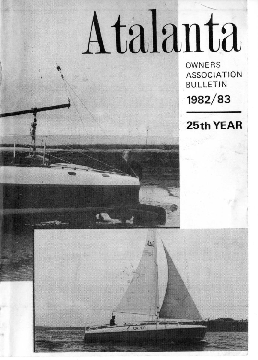 AOA Bulletin 1982-83 cover