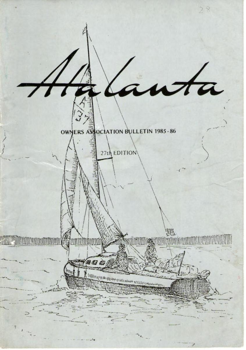 AOA Bulletin 1985-86 cover