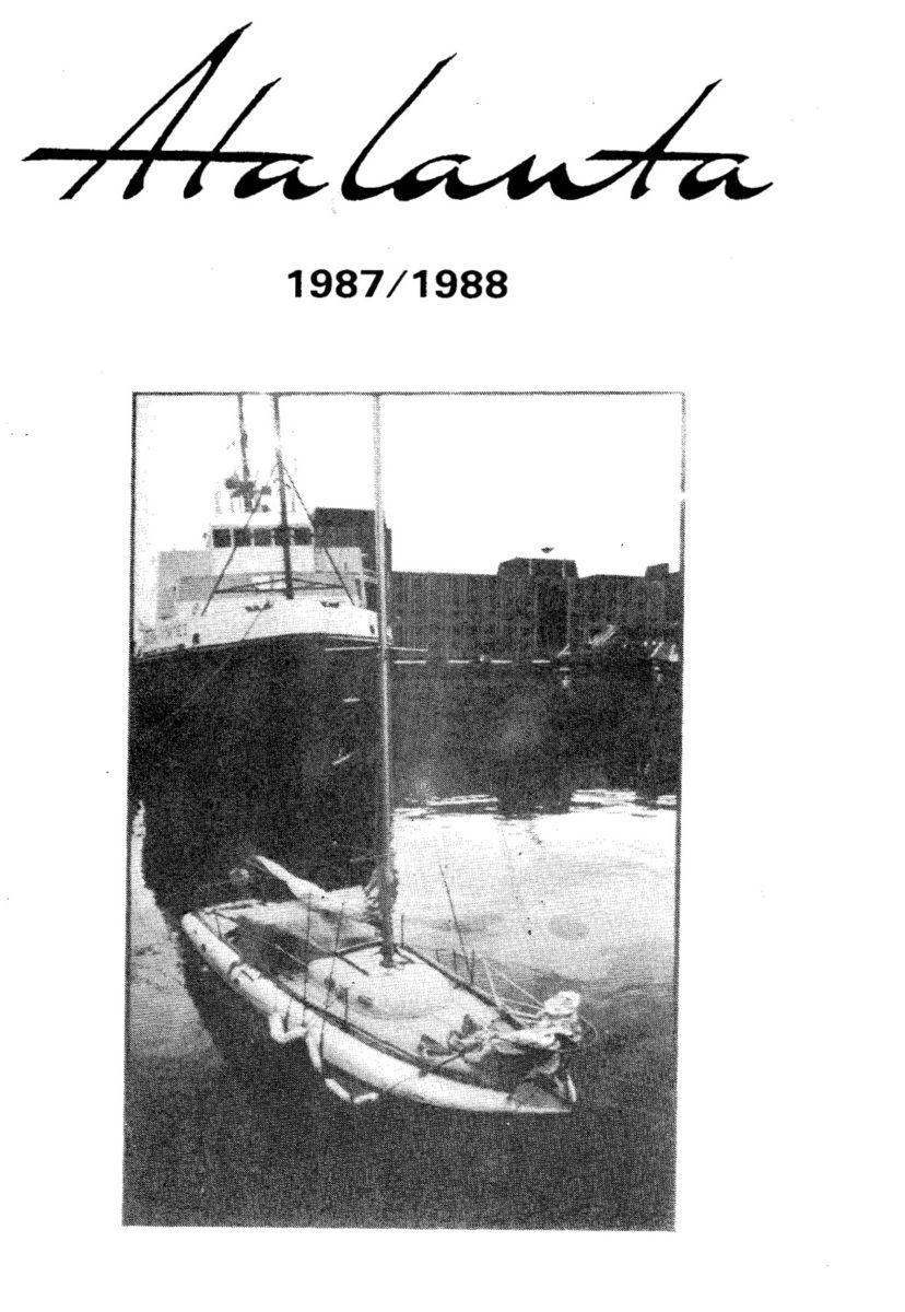 AOA Bulletin 1987-88 cover