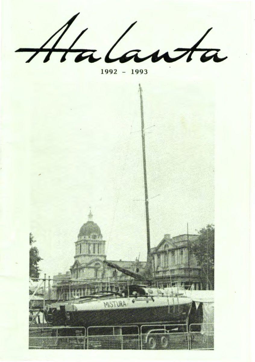 AOA Bulletin 1992-93 cover
